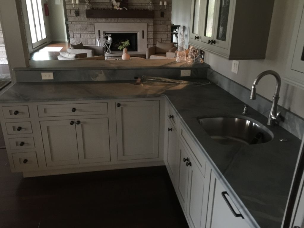 Honed granite countertops for kitchen hesano brothers for How to hone marble