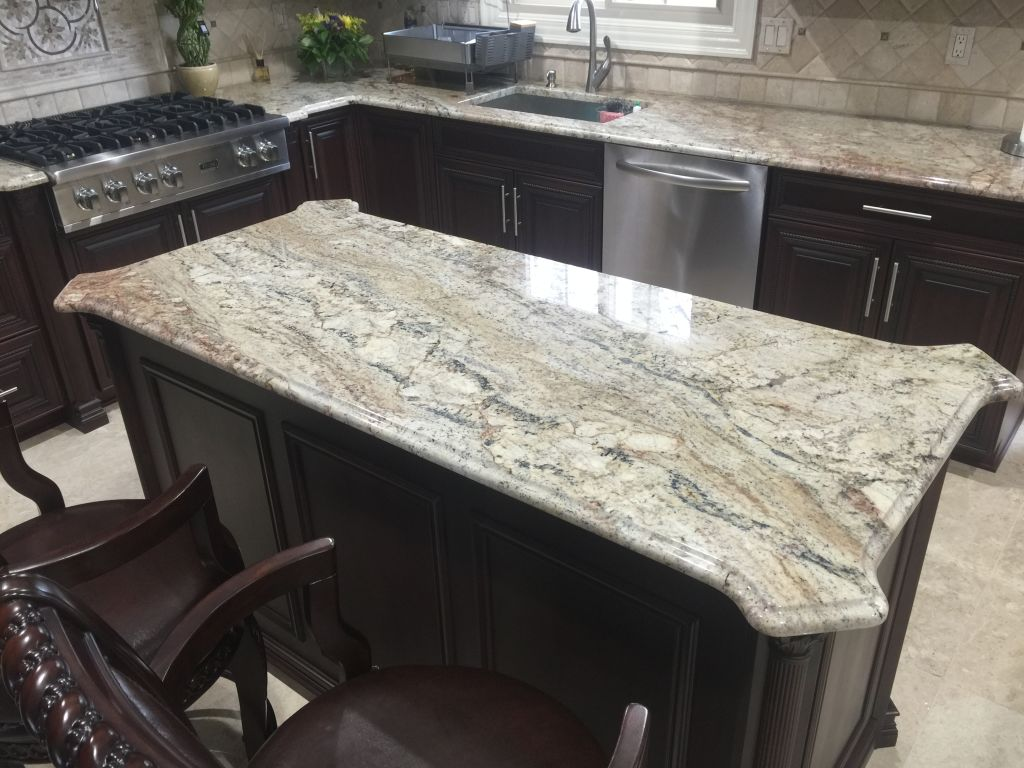 Typhoon Bordeaux Exotic Granite Countertops - Hesano Brothers