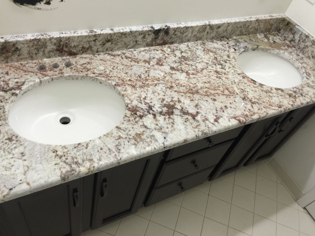 Galaxy White Granite Top Hesano Brothers