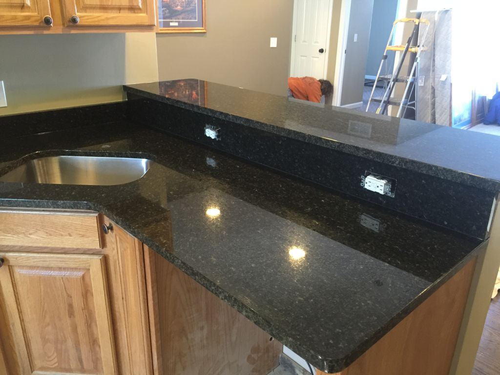 Kitchens With Uba Tuba Granite Uba Tuba Granite Kitchen Countertops Hesano Brothers