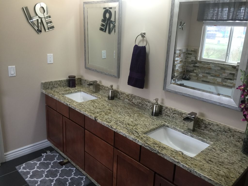 Giallo Ornamental Granite Designer Bathroom 28 Images