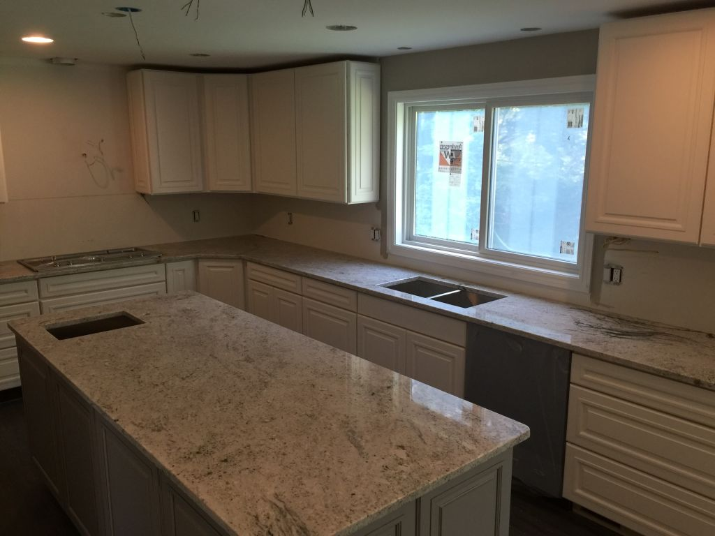 Salina White Granite Countertop For Kitchen Hesano Brothers