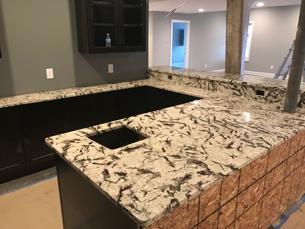Ordinaire Galilia White Exotic Granite For Basment Bar Top,